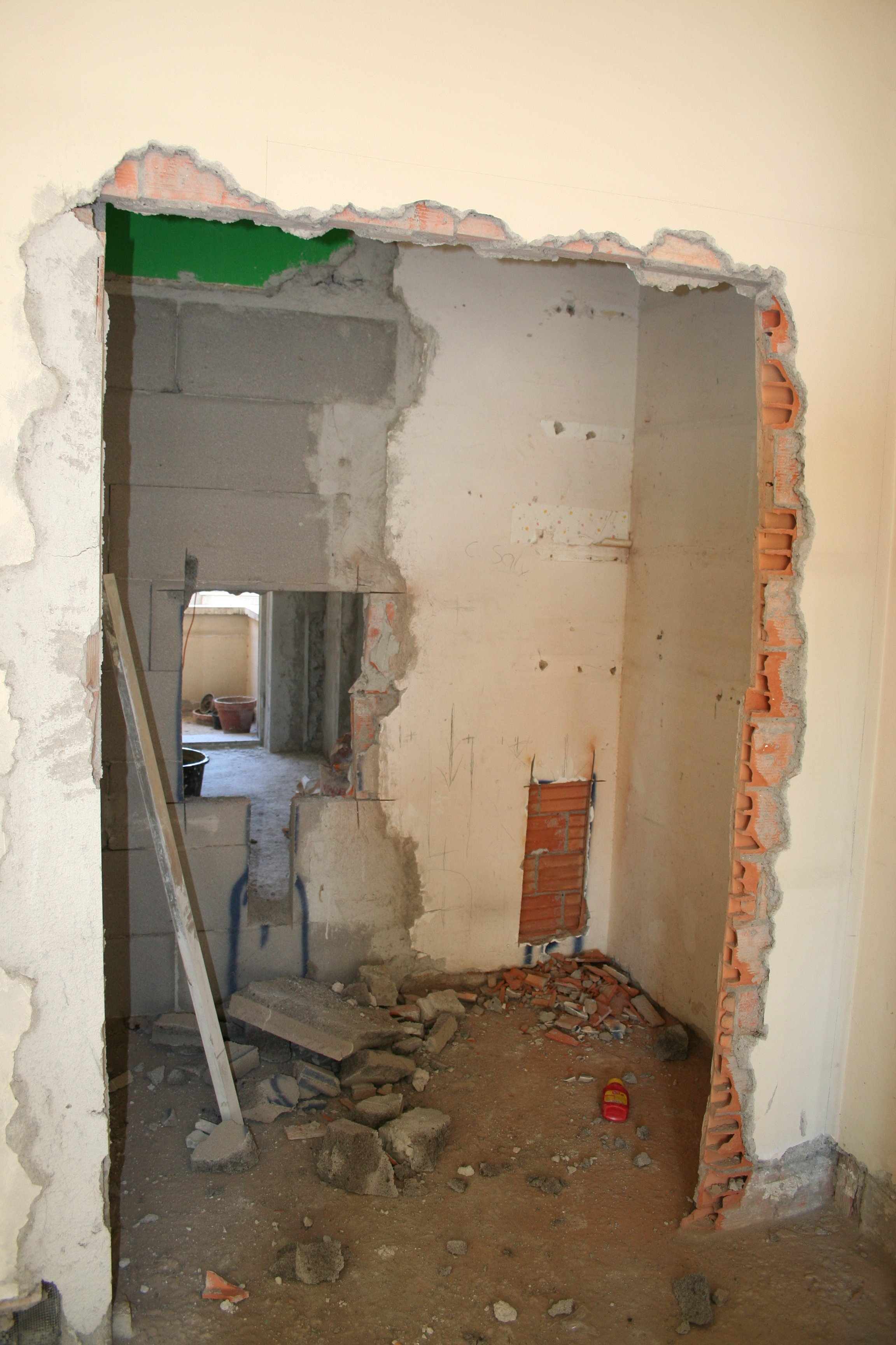 ... camera da letto camera da letto foto 1 prima di demolizioni