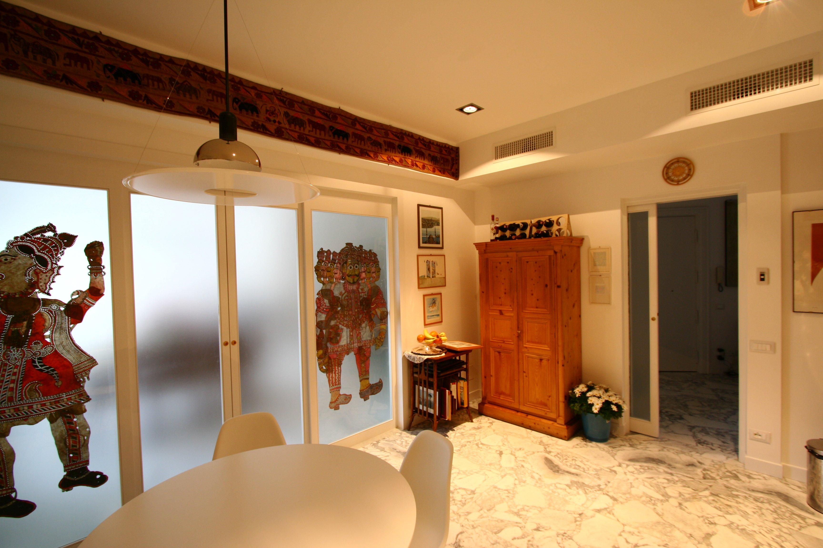 Image: Cucina foto 5 vista porta scorrevole ingresso